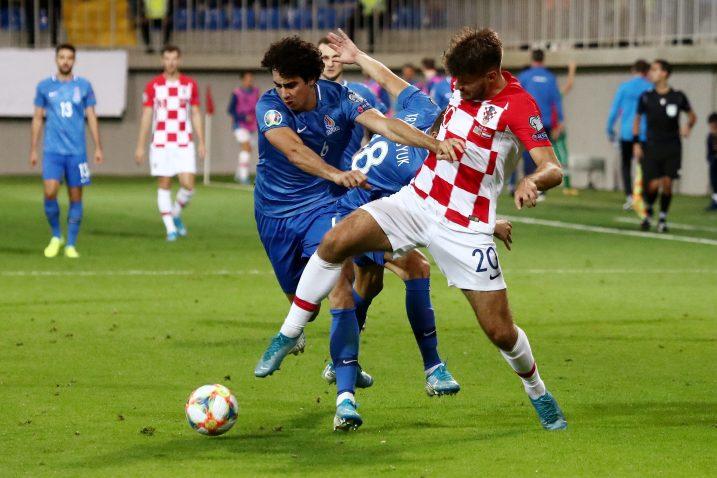 Bruno Petković nije iskoristio nekoliko dobrih prilika za pogodak/Foto REUTERS