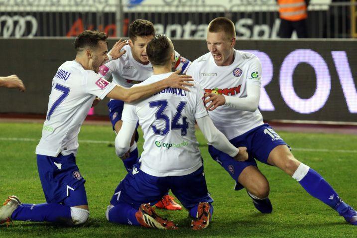 Splićani su ostvarili drugu pobjedu na otvaranju proljetnog dijela sezone/M. CIKOTIĆ/PIXSELL