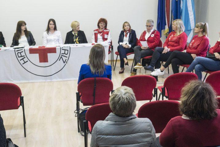 Sudionice i promotorice projekta »Pomoć u kući« / Snimio Marin ANIČIĆ