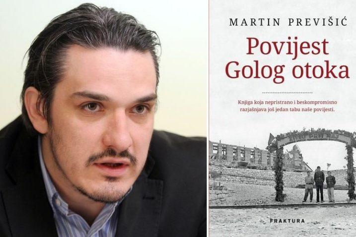 snimio Darko Jelinek, Sergej Drechsler / naslovnica knjige Povijest Golog otoka