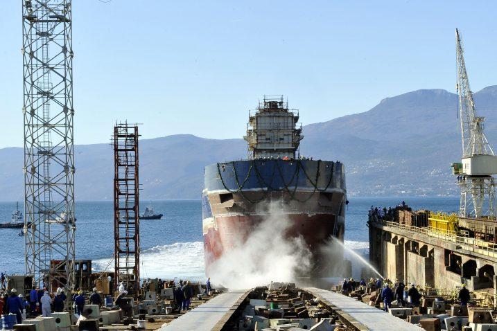 Kako spasiti 3. maj i brodogradnju? / Snimio Silvano JEŽINA