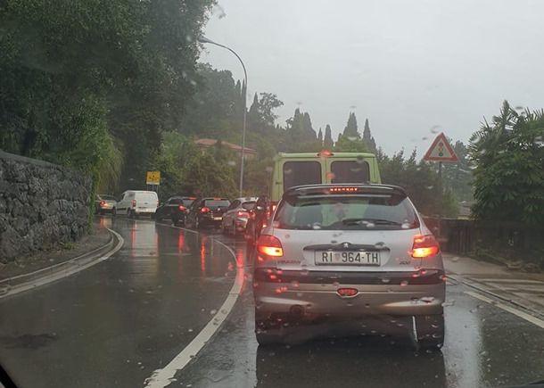 Foto Problemi u prometu - Rijeka i okolica / Facebook / E.L.