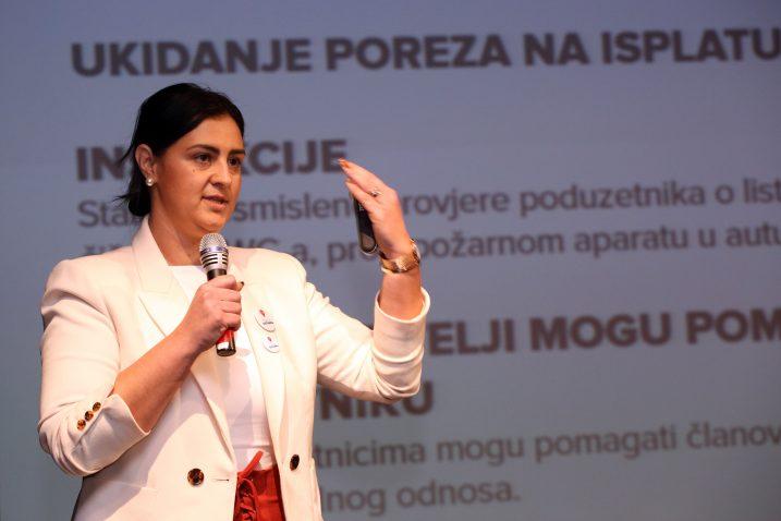 Ivana Ninčević-Lesandrić / Photo: Miranda Cikotic/PIXSELL