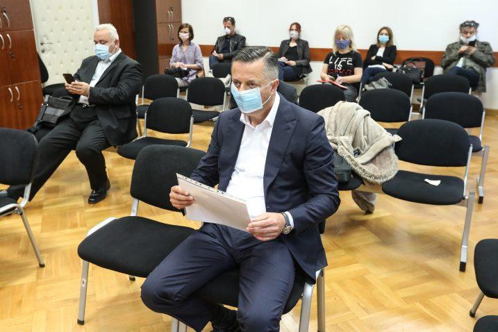 Fimi media, nastavljeno suđenje. Na slici odvjetnik Vladimir Terešak / Foto: Robert Anic/PIXSELL