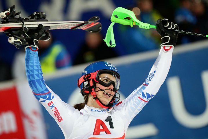 Petra Vlhova/Foto REUTERS