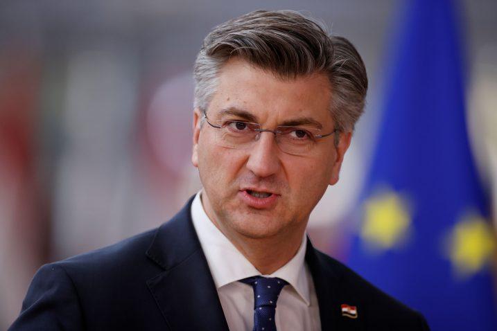 """""""Nisam to nešto osobno dramatično doživio, ne znam je li to bio zadnji tvit odlazeće Šarecove vlade,"""" rekao  je premijer Andrej Plenković / Reuters"""