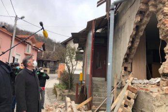 Andrej Plenković u obilasku stradalog područja