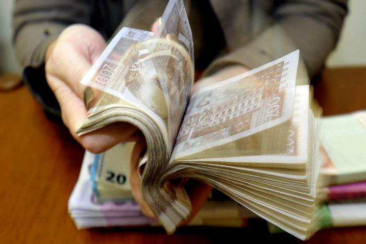 Na računima četiriju mirovinskih fondova danas je 112 milijardi kuna / Snimio Damir ŠKOMRLJ