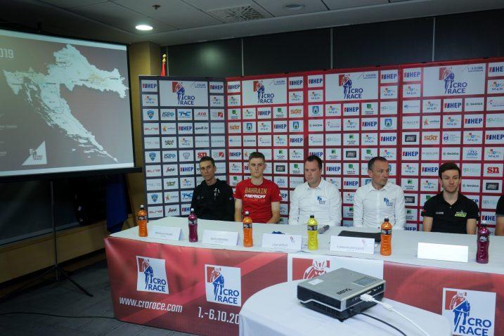 Radoslav Rogina, Matej Mohorič, Luka Mišović, Vladimir Miholjević, Adam Yates i Josip Rumac/Foto PIXSELL