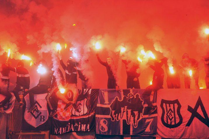 Riječka policija nije pokazala razumijevanje za događanje navijača na Kantridi/Foto Arhiva NL
