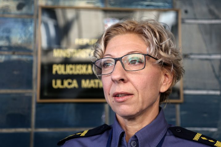 Glasnogovornica zagrebačke policije Marija Goatti / Foto: M. TIRONI