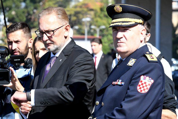 Ministar Davor Božinović i glavni ravnatelj Nikola Milina / Foto: Novi list