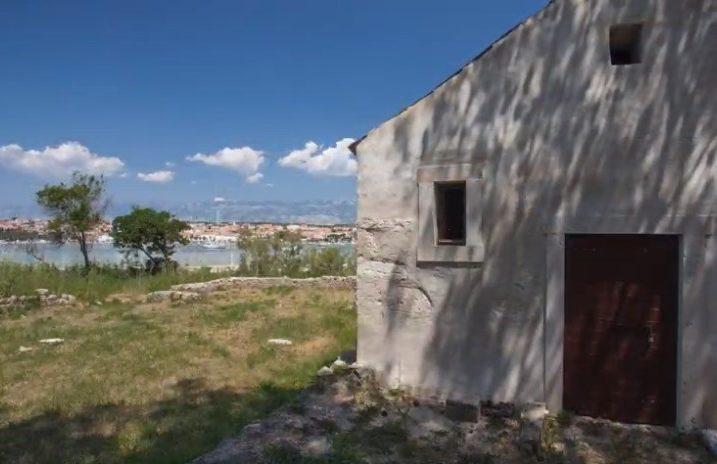 Bazilika na arheološkom nalazištu Jaz / Foto Screenshot YouTube Visit Novalja