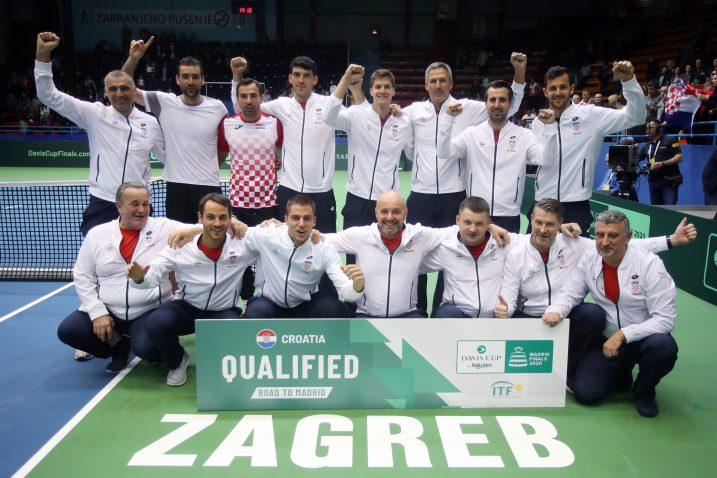 Davis Cup reprezentacija Hrvatske/Foto REUTERS