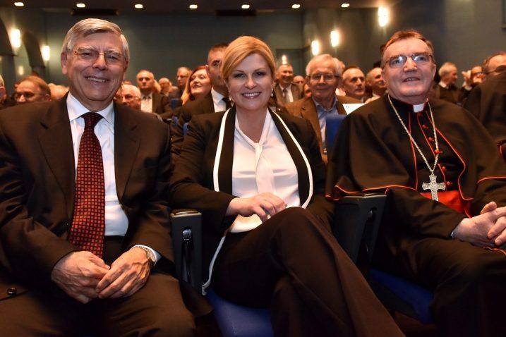 Željko Reiner, Kolinda Grabar-Kitarović i Josip Bozanić