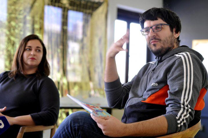 Novi Brickzine predstavili su Jelena Milić i Kristian Benić / Foto Damir Škomrlj