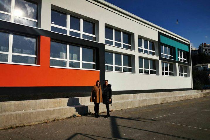 Završeni su radovi na energetskoj obnovi školske dvorane / Foto Grad Crikvenica
