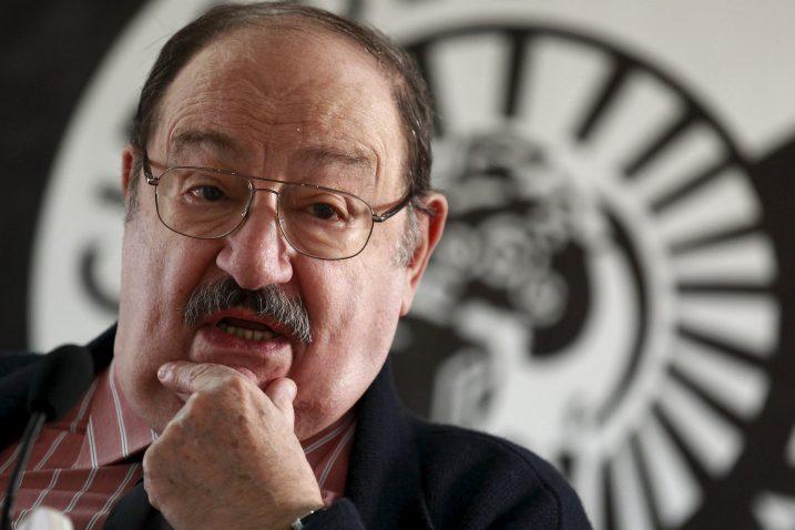 Ur-fašizam je i dalje oko nas, ponekad u civilnoj odjeći - Umberto Eco / Foto Reuters