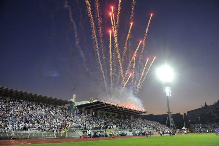 Ovako je to izgledalo prošle godine protiv Maribora/Foto Arhiva NL