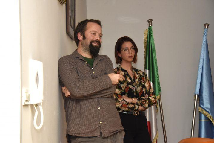 Grgo Frangeš i Rahela Vešković na predstavljanju projekta VALUE / Foto W. SALKOVIĆ