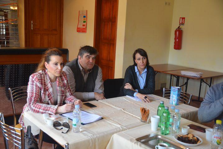 Majda Burić, Damir Grgurić i Ivana Rogina Pavičić / Snimio  M. KRMPOTIĆ