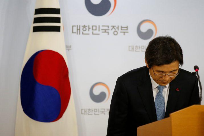 FOTO/Hwang Kyo-ahn, REUTERS
