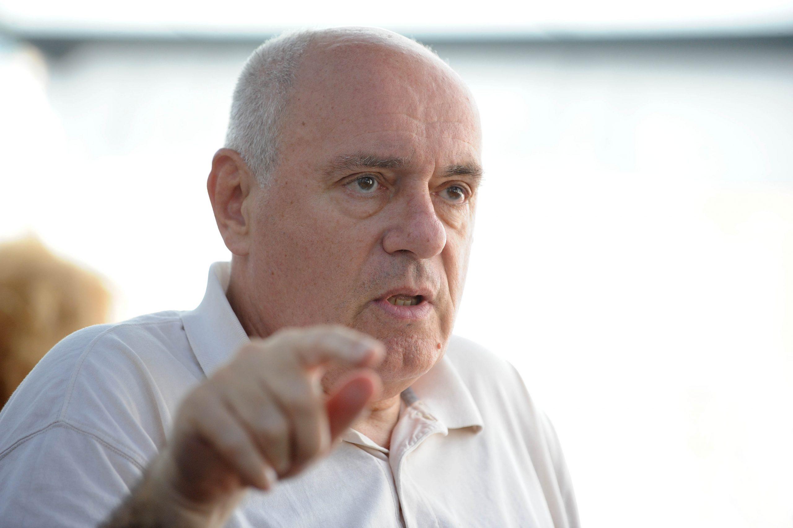 Milanović smatra da je njegova osoba, njegov karakter dovoljan program - Žarko Puhovski / Snimio Davor KOVAČEVIĆ