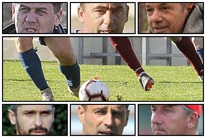 Davor Dželalija, Dušan Gruevski, Zoran Bogolin, Marijan Tomić, Nehajev Svast i Dario Dabac/Foto Arhiva NL