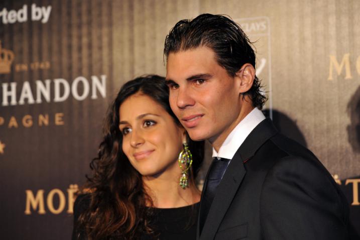 Xisca Parello i Rafa Nadal/Foto REUTERS