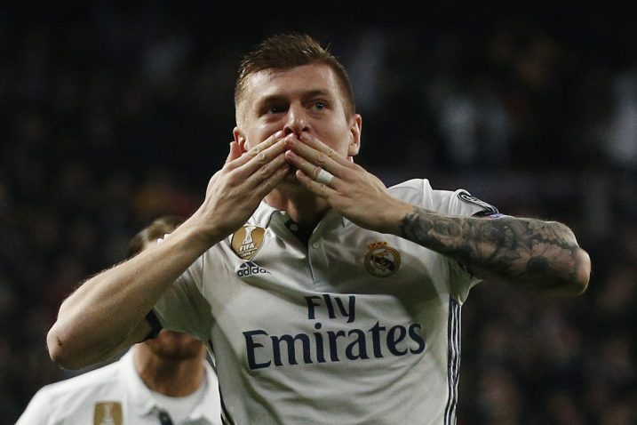 Toni Kroos (Real Madrid)/Foto REUTERS