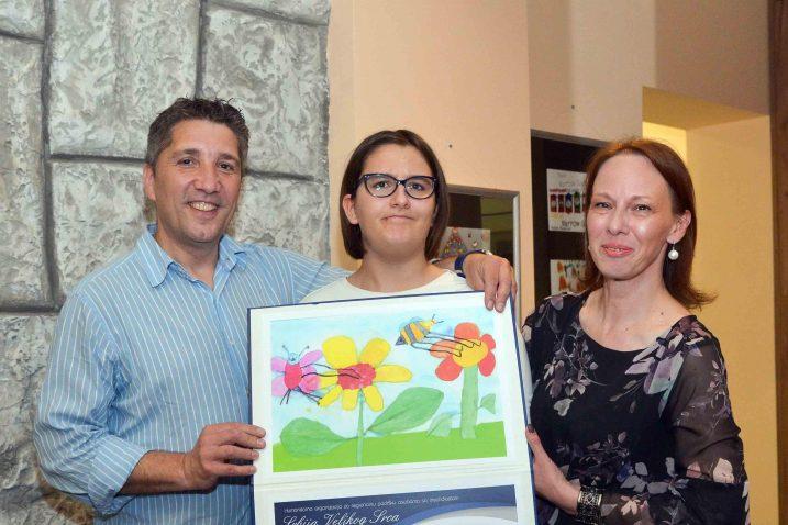 Dora Jadronja nagradu je primila u Beogradu