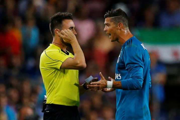 Ricardo De Burgos i Cristiano Ronaldo/Foto REUTERS