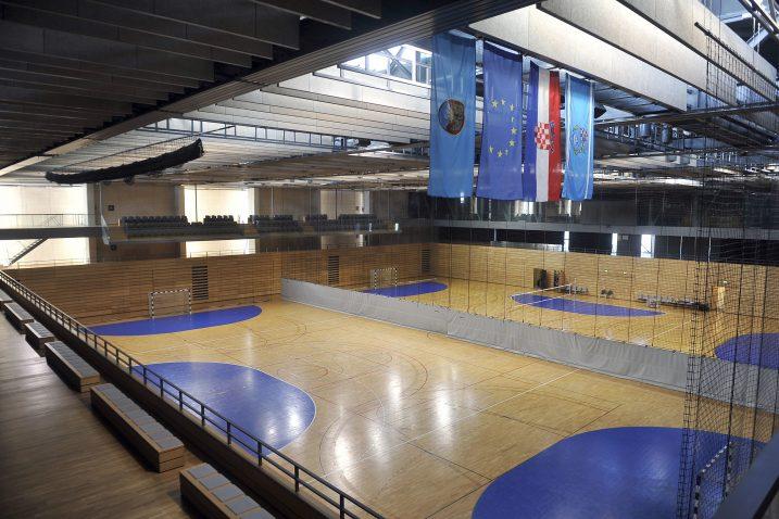 Nova dvorana na Zametu ne ispunjava kriterije za odigravanje velikih rukometnih natjecanja/Foto Arhiva NL