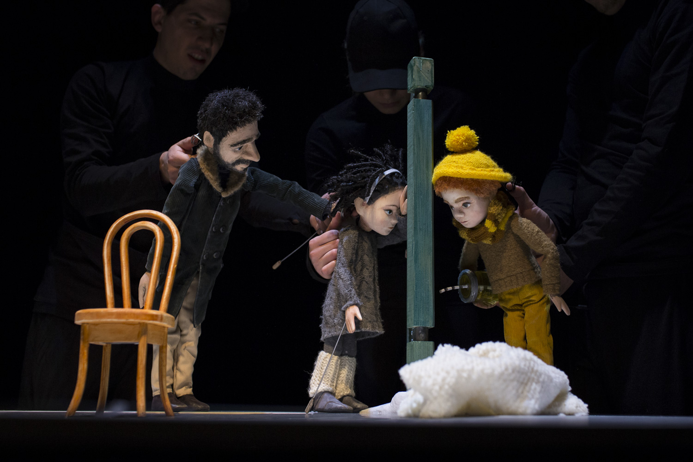 Scena iz predstave Zamrznute pjesme / Foto GKL Rijeka