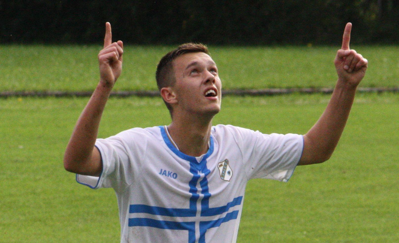 Andrija Filipović svojevremeno je bio priključen prvoj momčadi Rijeke/Foto Arhiva NL