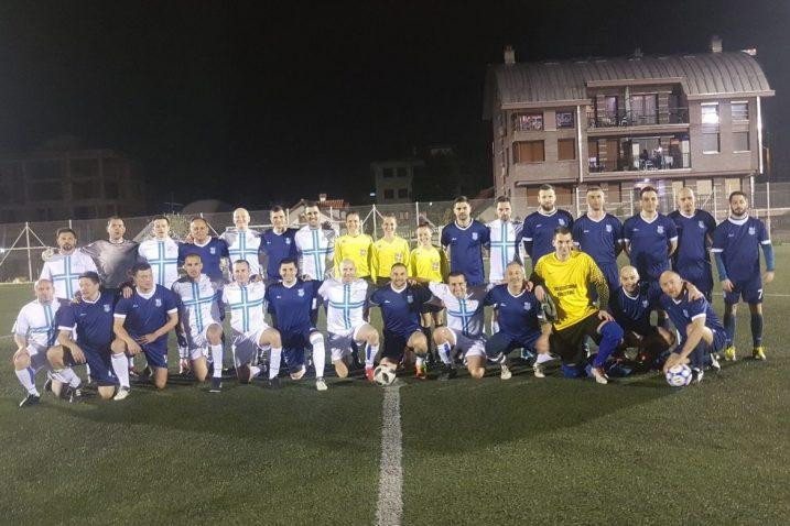 Beogradski i riječki pravnici na zajedničkoj fotografiji nakon utakmice