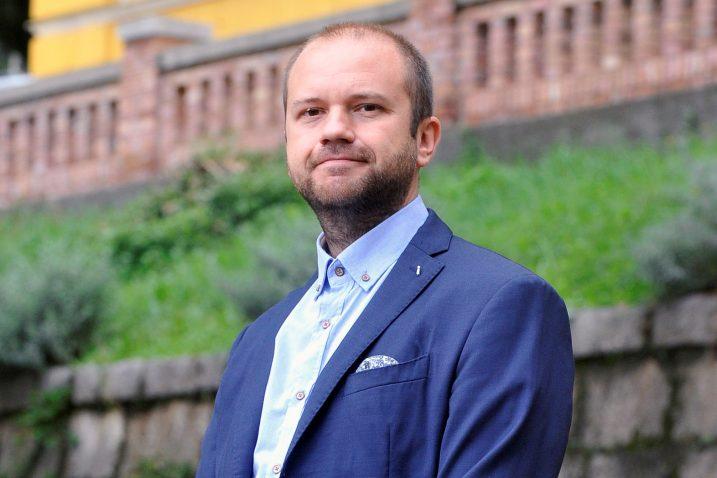 Prof. Saša Horvat član je Organizacijskog odbora simpozija Riječki znanstveni mostovi / Foto Roni BRMALJ