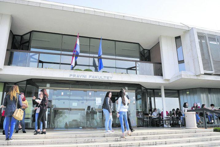 Pravni fakultet je, kao i Ekonomski i Građevniski smanjio upisne kvote / Snimio Vedran KARUZA