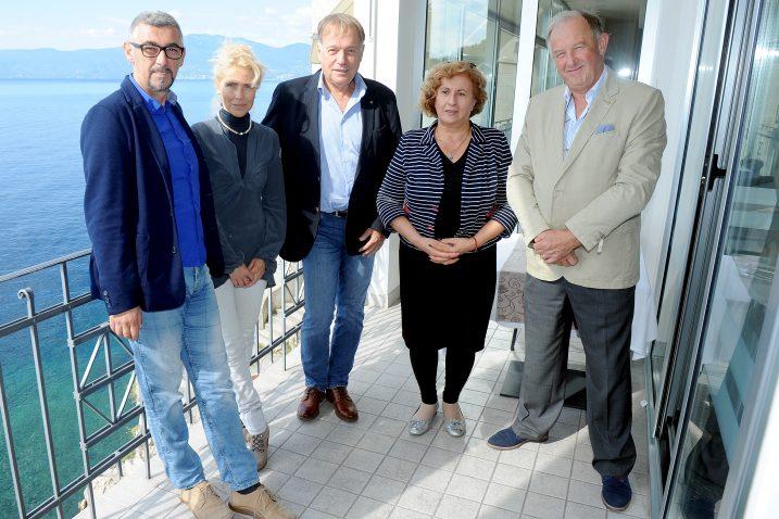 Miroslav Ostojić, Natalija Marčelja, Vladimir Tkalčić, Jolanda Tomić i Zdenko Cerović / Foto Marko GRACIN