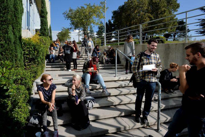 Sveučilište u Rijeci ima nekoliko posebno privlačnih studija /Foto Damir Škomrlj