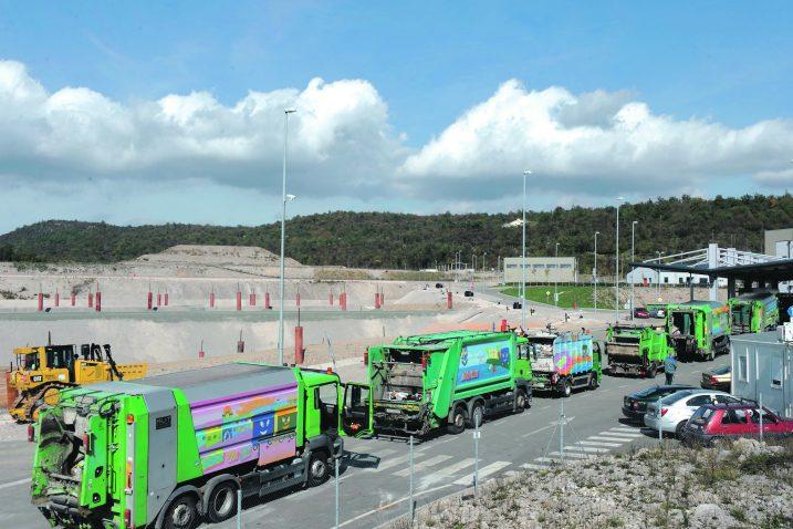 Tijekom tri godine odloženo 200.000 kubičnih metara miješanog komunalnog otpada / Snimio Marko GRACIN
