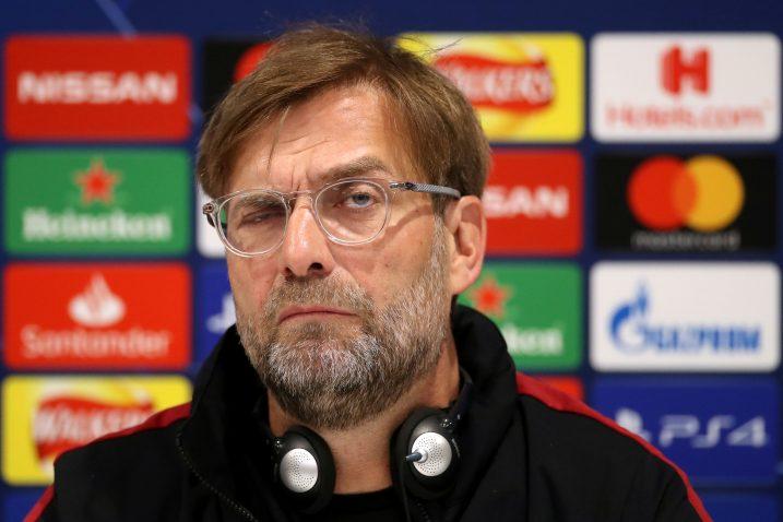 Jurgen Klopp, trener Liverpoola/Foto REUTERS
