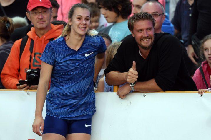 DOBAR POSAO - Sara Kolak i Andreas Thorkildsen / Foto  J. REGOVIĆ/PIXSELL