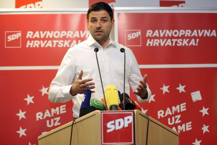 Davor Bernardić / Foto: D. KOVAČEVIĆ
