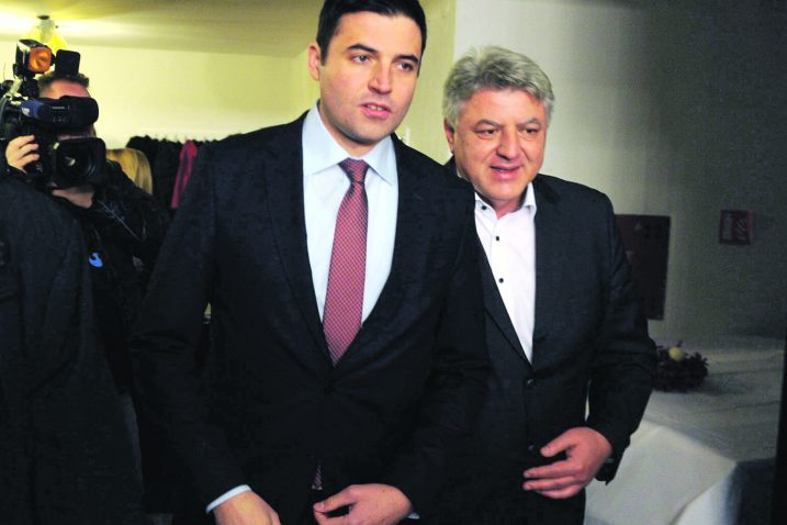 Davor Bernardić i Zlatko Komadina, Foto: R. BRMALJ