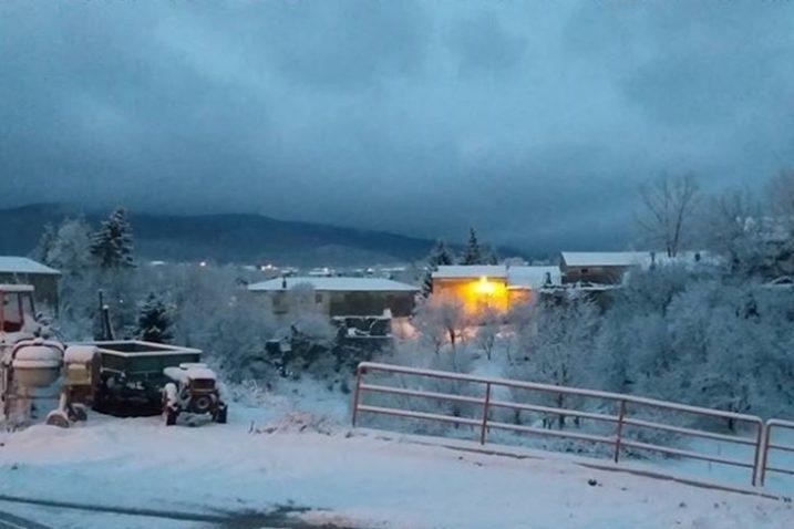 Vele Mune pod snijegom / Foto Nenad Neno Čuljat