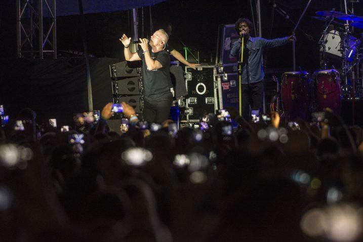 Koncert talijanskog pjevača privukao je međunarodnu publiku / Snimio Marin ANIČIĆ