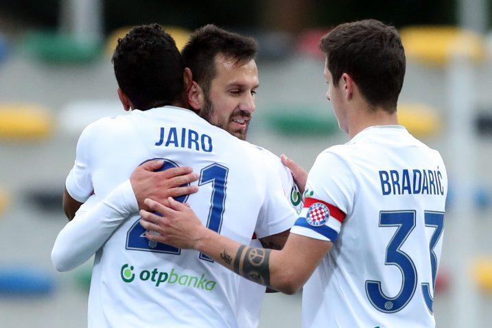 Jairo Da Silva, Mijo Caktaš i Domagoj Bradarić/Foto PIXSELL