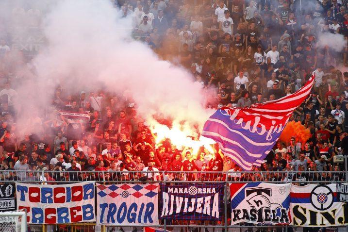 Torcida kao i sve veće hrvatske navijačke skupine bojkotira reprezentaciju/Foto PIXSELL