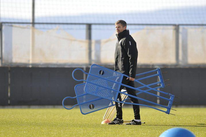 Simon Rožman, trener nogometaša Rijeke/Foto Arhiva NL
